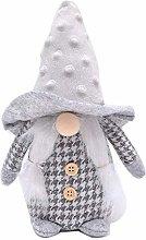 HshDUti Gnomes Plush Knitted Santa Doll, Sayla