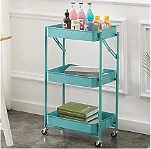 hsj Household Storage Trolley Bathroom Kitchen
