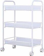 hsj Movable shelf Wheeled shelf Storage shelf