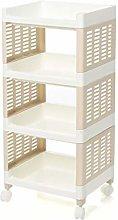 hsj Rectangular rack Plastic storage rack Storage