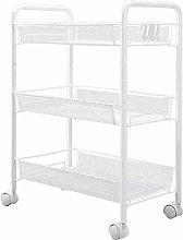 hsj Small Trolley Rack Kitchen Movable Multi-