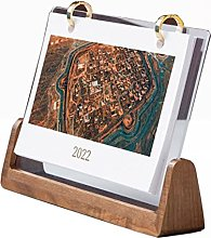 Hsjx Desk Calendar for the Year of the Tiger,2022