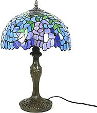 HSLY 18-inches Tiffany Table Lamp Retro Lighting
