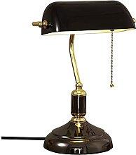 HSLY Banker Lamp Vintage Bedroom Writing Room