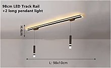 HSMIN® Led Track Ceiling Lamp Fashion Pendant