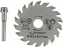 HSS Circular Saw Blade Rotary Tool 54.8mm Mini