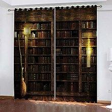 Hsvvsovs® Blackout Curtains - 3D Printing Vintage