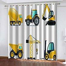 Hsvvsovs® Kids Blackout Curtains Yellow