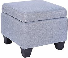 HSWYJJPFB Shoes Stool Ottoman Storage Stool