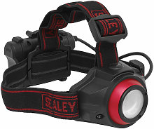 HT111R Rechargeable Head Torch 5W COB LED Auto
