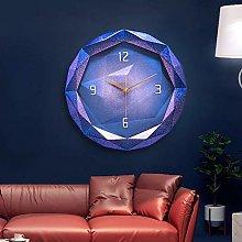 HtapsG Decorative clock # N/a (Color : Purple)