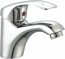 HTBYTXZ 1 Piece Faucet Simple Hot And Cold Water