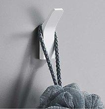 HTBYTXZ Bathroom towel wall hook nailless