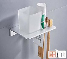 HTBYTXZ Double toothbrush holder with Tooth Holder
