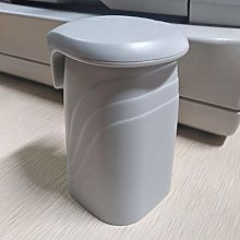 HTBYTXZ Toothbrush Cup Solid Color Simple With Lid