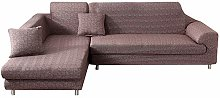 HTDirect Stretch Sofa Covers, L-Shaped Sofa