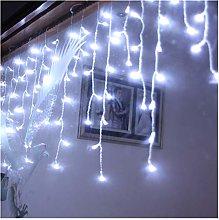 Htipdfg String lights 1.5 * 0.5m led icicle led