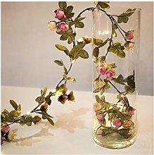 Htipdfg String lights 2M 20 LEDs flower leaf