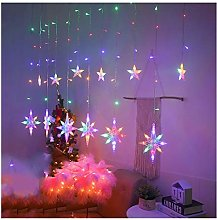 Htipdfg String lights LED Star Snowflake Heart