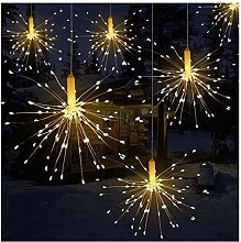 Htipdfg String lights LED Waterproof Star