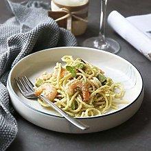HTL Bowls Ceramic Plate/Noodles Bowl/Dinner Plate