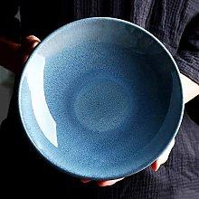 HTL Bowls Retro Ceramic Bowl Shallow Soup Bowl