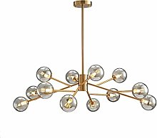 HTL Chandelier,Sputnik Glass Globe Chandelier