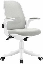 HTL Computer Desk Chair Swivel Fabric Home Office