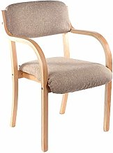 HTL Desk Chairs Mid-Century Dining Chair with Arms