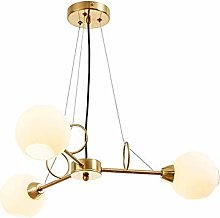 HTL E14 Sputnik Chandelier,Handblown Lampshade