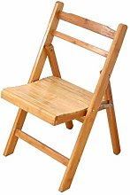 HTL Folding Chair Folding Chair Bamboo Backrest
