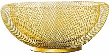 HTL Home Coffee Table Decoration Grid Fruit Bowl