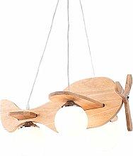 HTL Indoor Ceiling Mount Nordic Wooden Aircraft