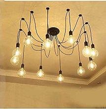 HTL Industrial Spider Chandeliers Lighting