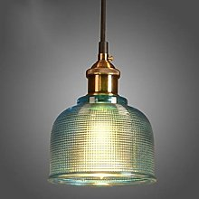 HTL Industrial Vintage 15Cm Glass Lampshade