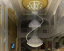 HTL Large Modern Crystal Chandelier Lighting Rain