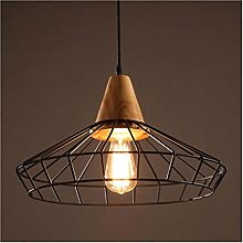 HTL Led Chandelier Industrial Vintage Style