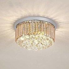 HTL Modern Crystal Chandelier Ceiling Pendant