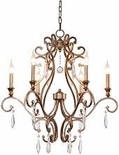 HTL Modern Crystal Chandelier Light Led Chandelier