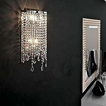 HTL Modern Crystal Wall Sconce Chandelier Lighting