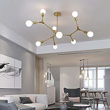HTL Modern Pendant Lighting with 9 Lights Hanging
