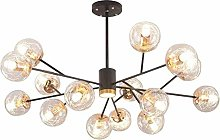 HTL Practical Lighting Chandeliers with Aluminum