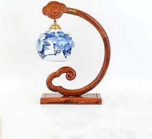 HTL Table Lamp Chinese Style Ruyi Retro Living
