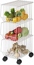 HTL Useful Fruit and Vegetable Rack Kitchen Shelf