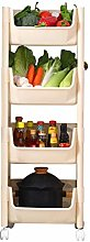 HTL Useful Fruit and Vegetable Rack Thick Pp
