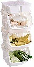 HTL Useful Fruit Vegetable Storage Rack Kitchen