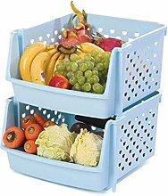 HTL Useful Vegetable Rack Kitchen Shelf
