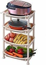 HTL Useful Vegetable Rack Kitchen Vegetable Rack