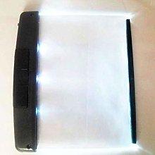 htrdjhrjy Flat Plate Portable LED Light Wedge