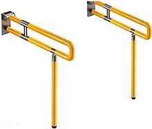 HTTWJD Bathroom Grab Bar - Foldable and Portable